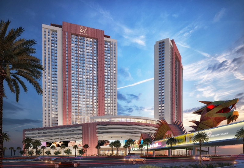 Nakheel is developing the Dragon Towers project in Dubai.