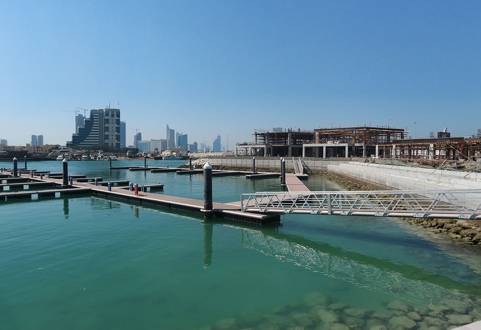 Government-backed Edamah is building Sa'ada in Bahrain.