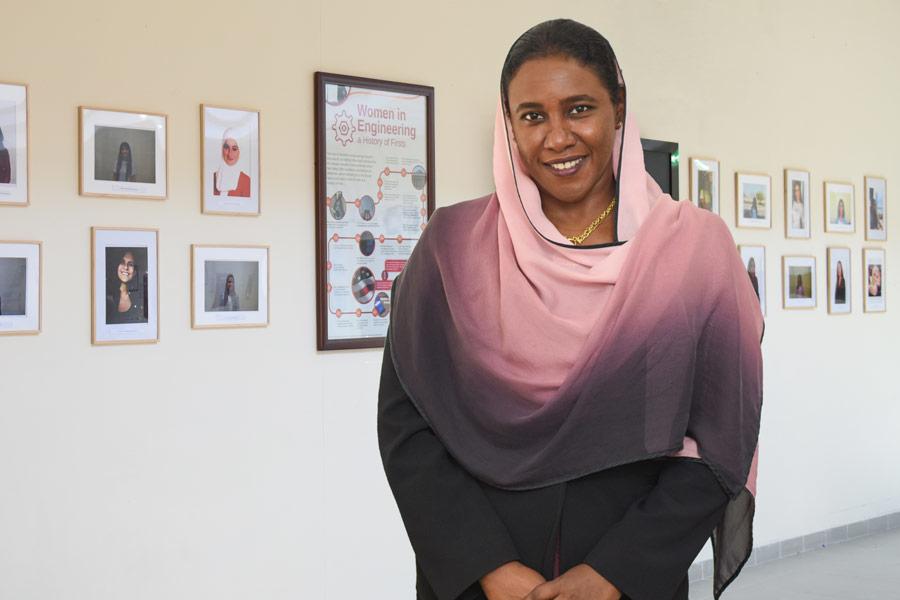 Dr Salwa Beheiry, associate professor of civil engineering, at American University of Sharjah's College of Engineering.