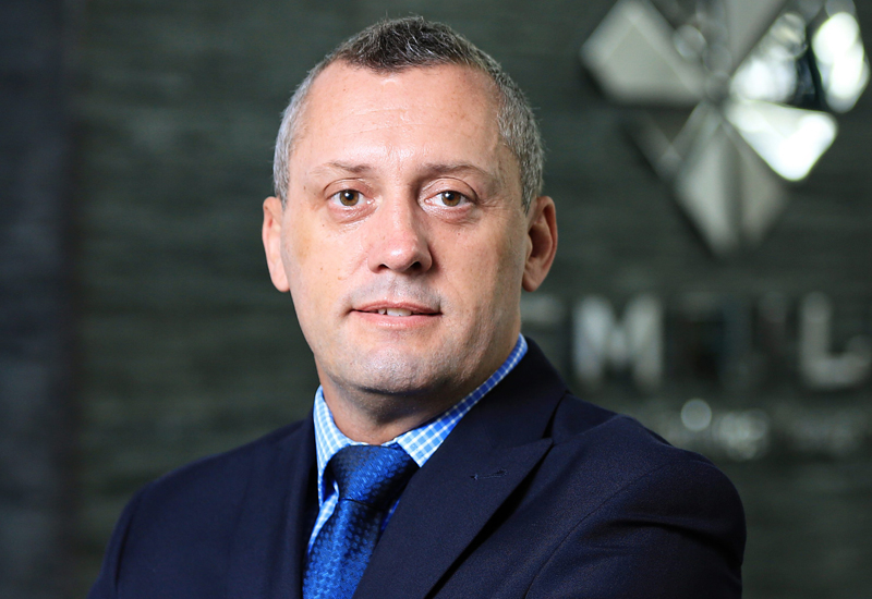 Stuart Harrison has been made CEO of Dubai's Emrill.