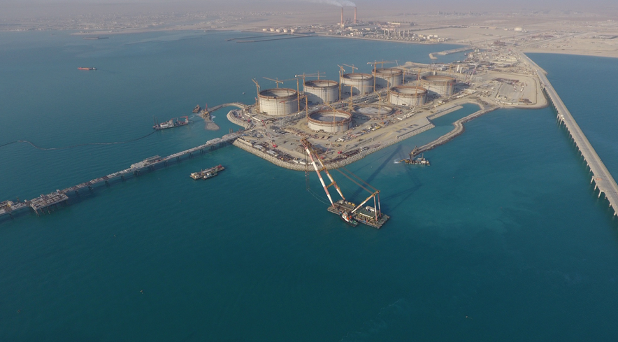Al Zour is a massive energy complex in Kuwait.