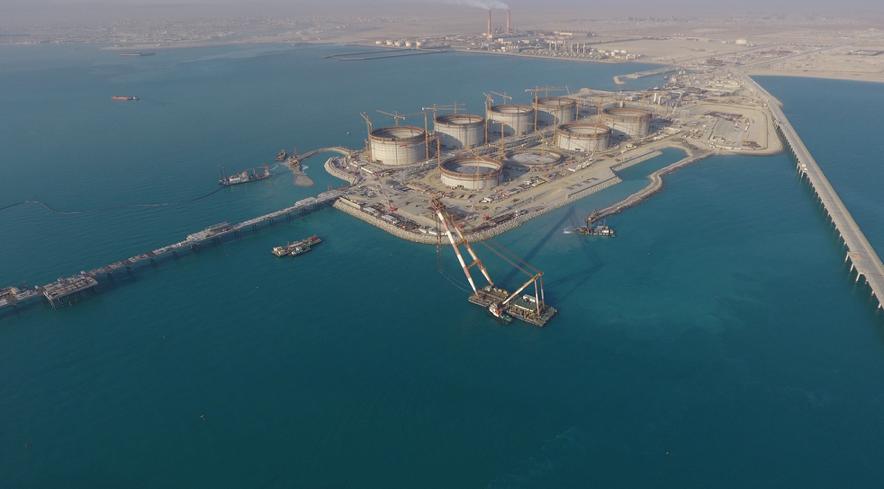 Kuwait's $27bn Al-Zour complex is making progress.