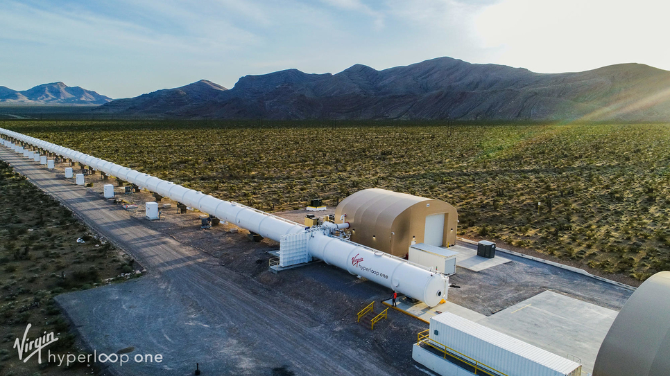 Saudi Arabia's hyperloop system could be operational by mid-2020.