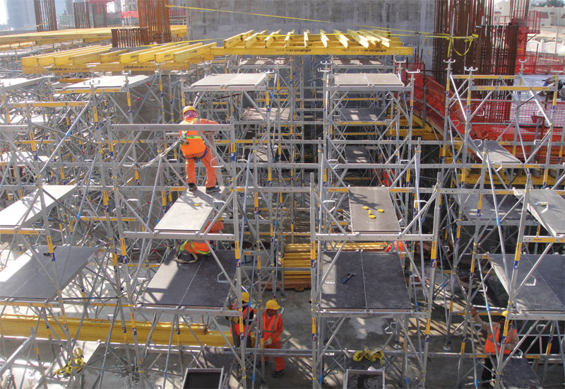 Contractor appetite for formwork tech is growing [representational image].