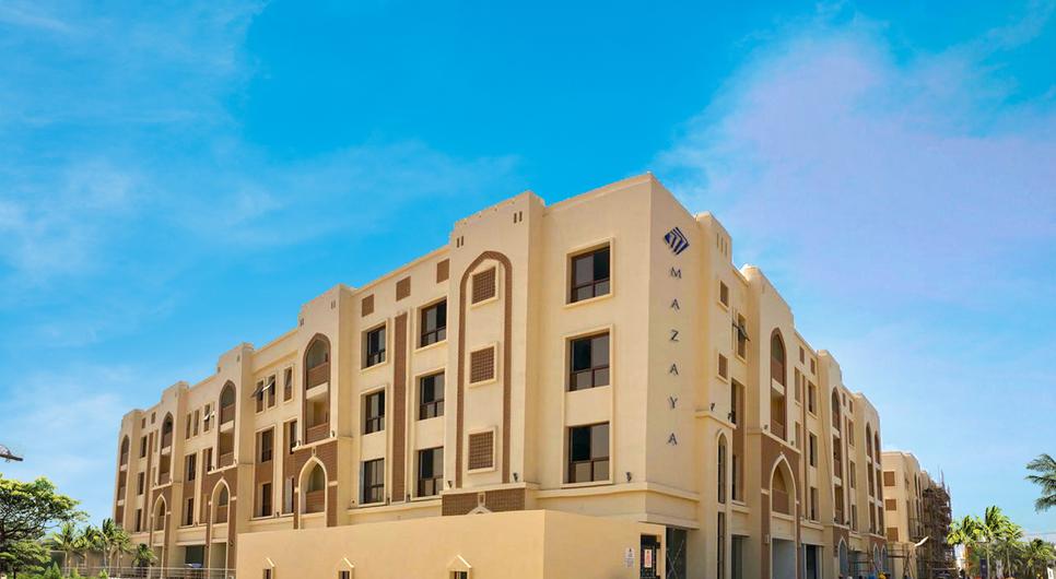 Mazaya Residences is an ongoing development in Oman.