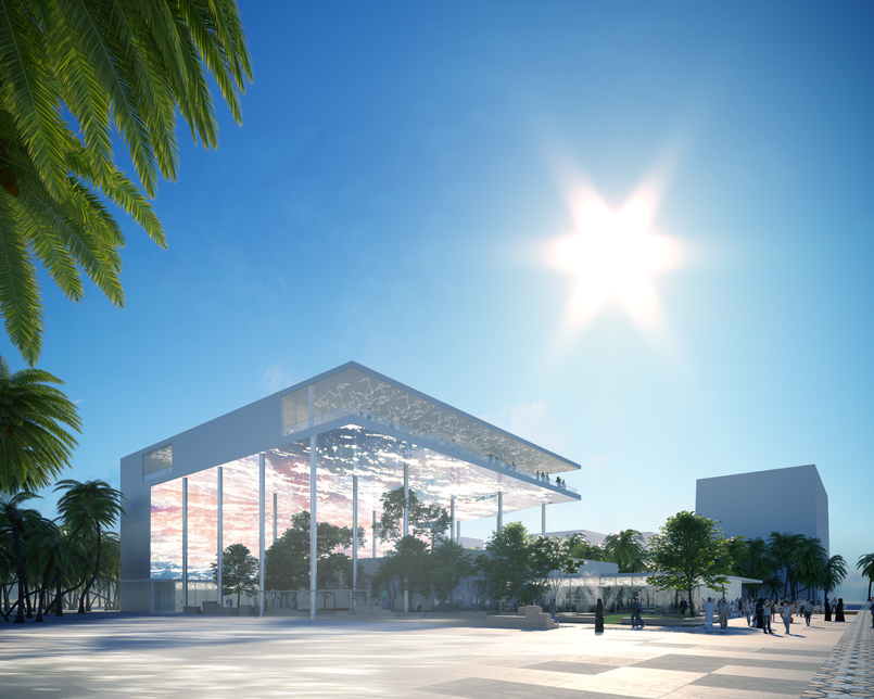 Besix will build Expo 2020 Dubai's France Pavilion.