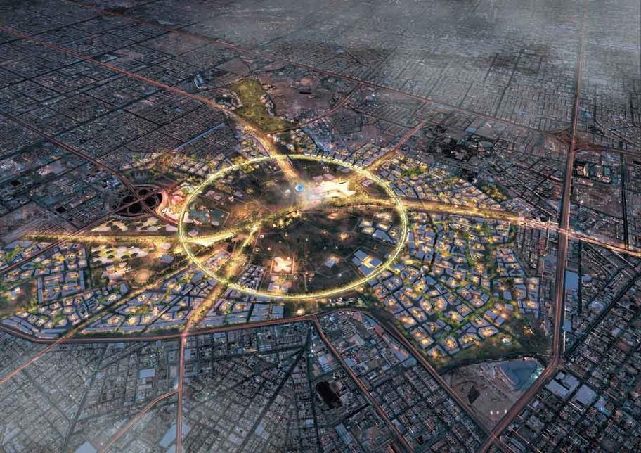 Hill will work on Saudi Arabia's King Salman Park.