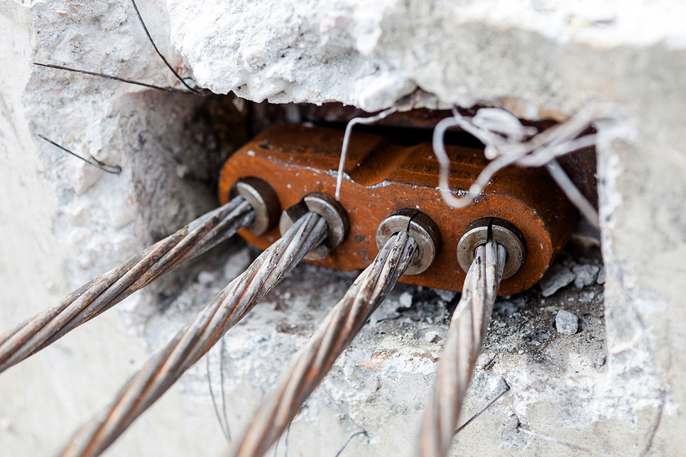Post-tensioning is a tried-and-tested method for concrete reinforcement.