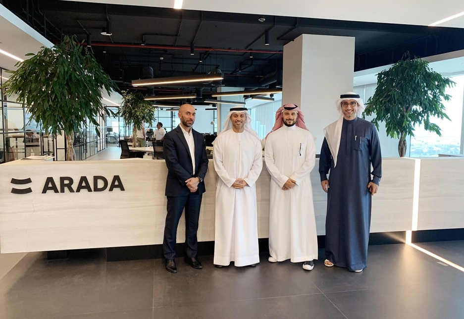 The UAE's Minister of State for Higher Education and Advanced Skills at Arada's Dubai HQ.