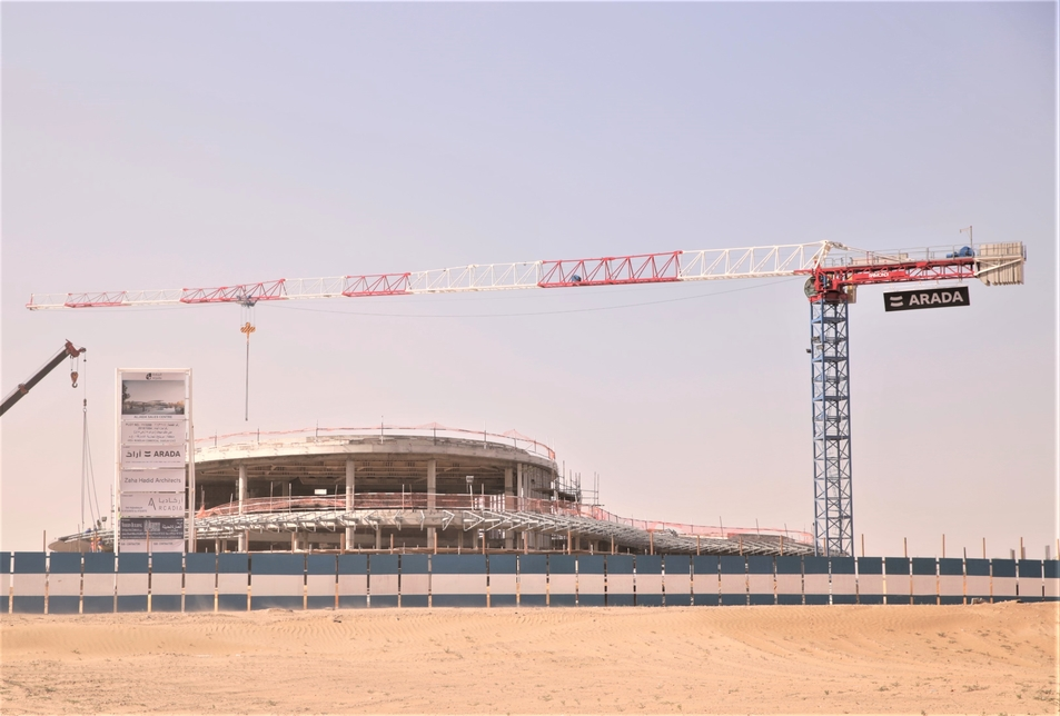 Arada is building the 2.2km2 Aljada project in Sharjah.