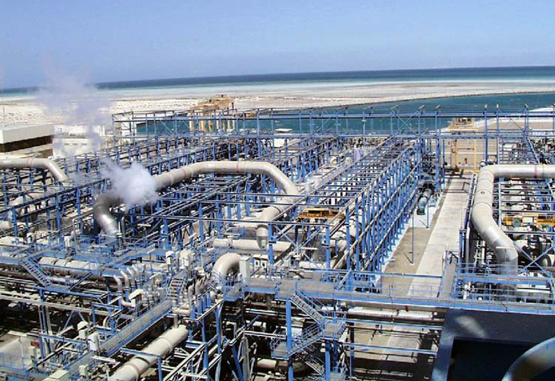 The plant has a capacity to desalinate 210,000m3 of water daily. [representational image]