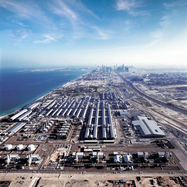 EGA, Dubai Holding, and Mubadala have broken ground on the Jebel Ali project.