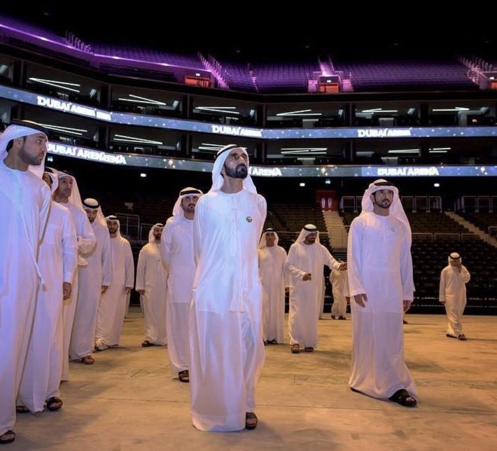 Dubai Arena will have a capacity of 17,000 spectators.