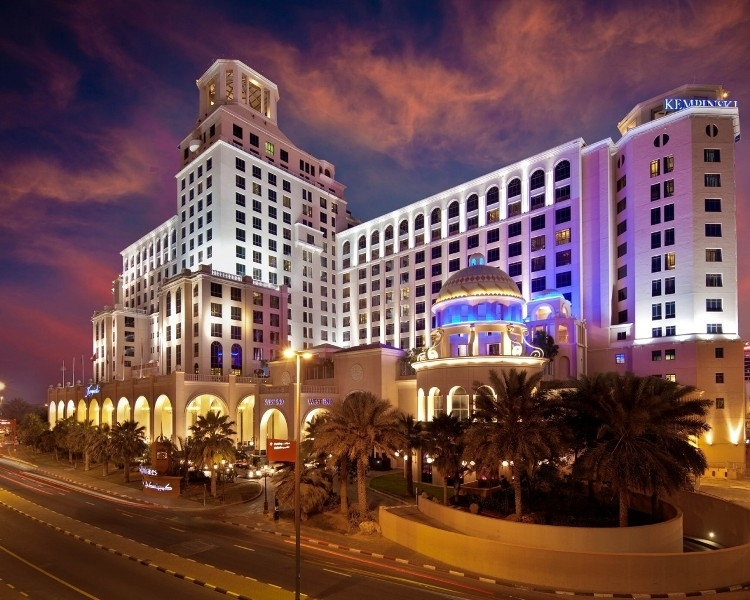 The Kempinski MoE hotel is one of ISG's local projects.