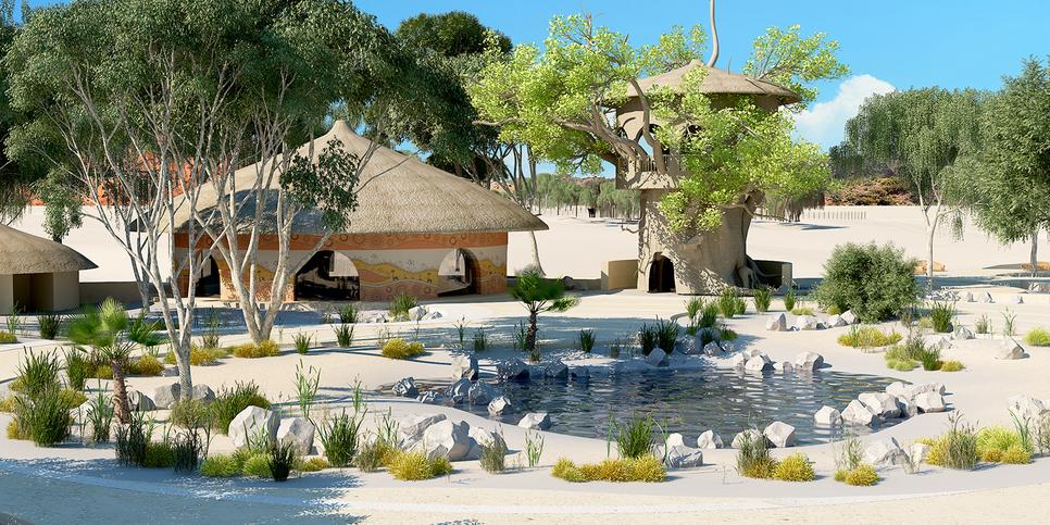 Revamp work is due to begin at Al Ain Zoo.