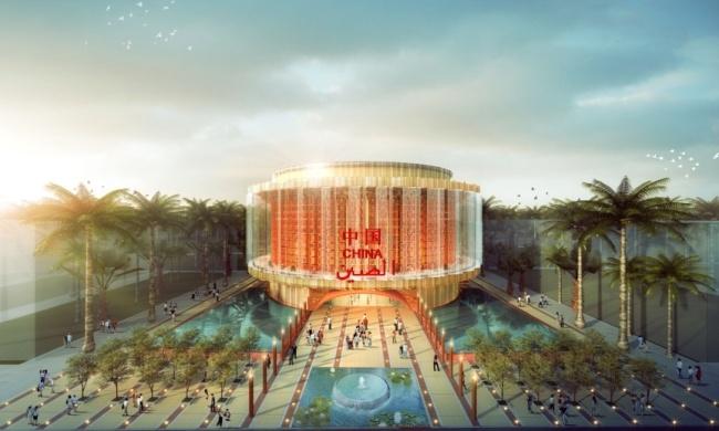 China has unveiled its lantern-inspired pavillion for Expo 2020 Dubai.
