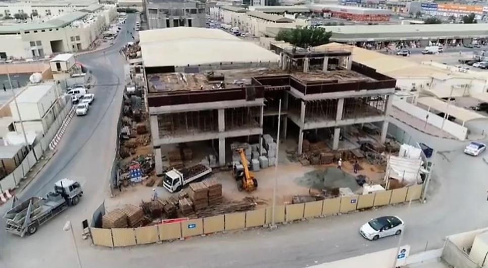 Ajman's Central Laboratory Building is 40% complete.