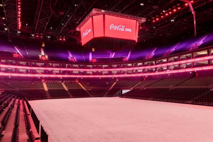 Coca-Cola Arena will open on 6 June.