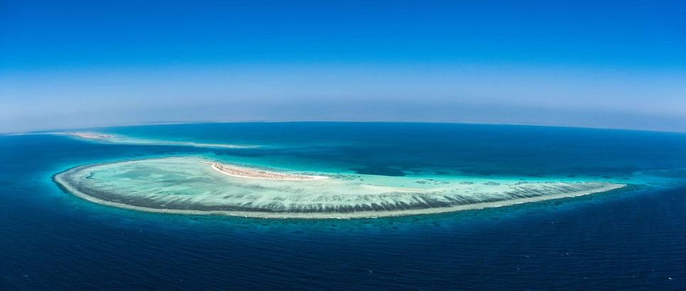 The Red Sea Project in Saudi Arabia.