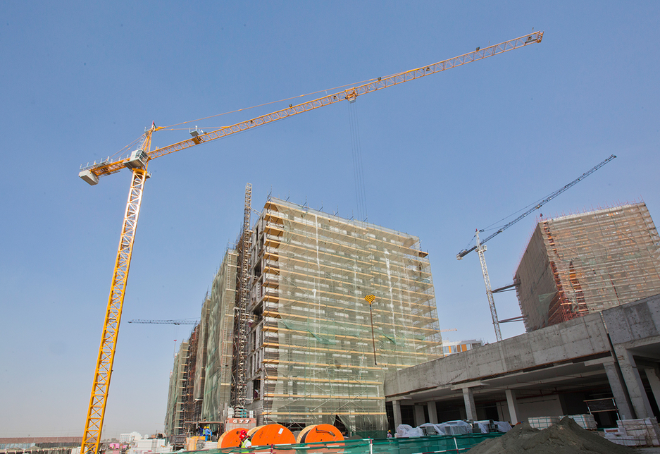 A view of Deyaar's Midtown project [representational].