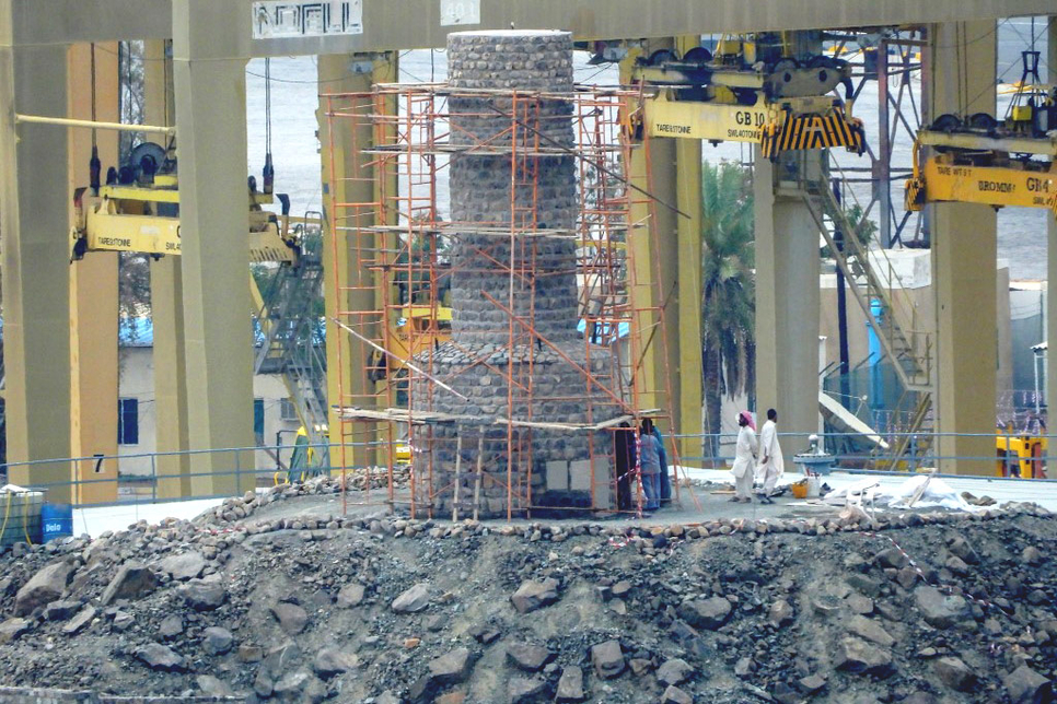 Heritage structures have been restored in Khor Fakkan, Sharjah.