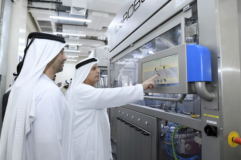HE Al Tayer inaugurated what RTA claims is the first robot-operated number plates factory in the world.