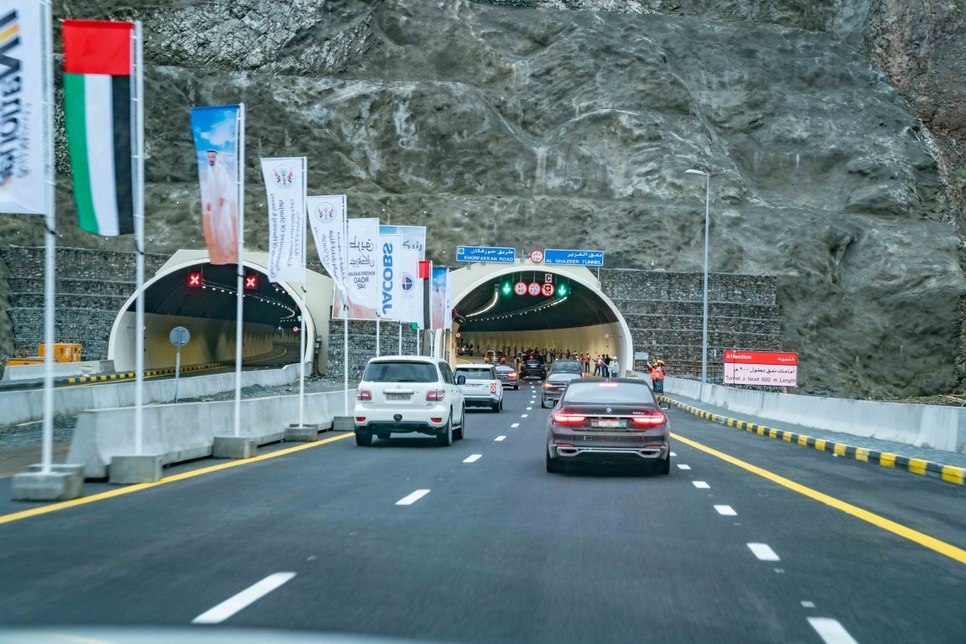 The Sharjah-Khor Fakkan Road is 89km long.