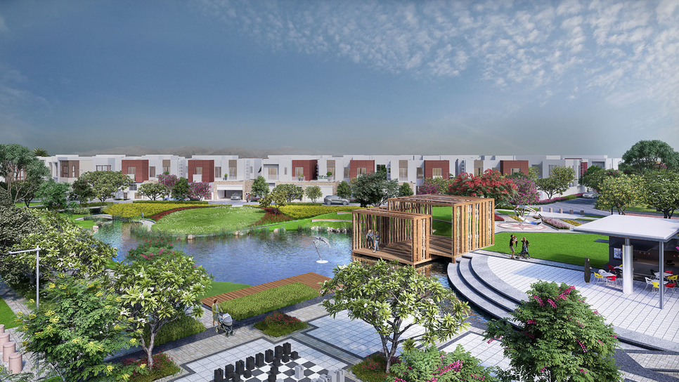 Al Mouj, Muscat has launched the Ghadeer Villas project.