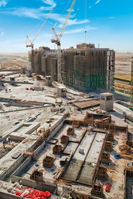Deyaar's Midtown spans 46ha in Dubai.