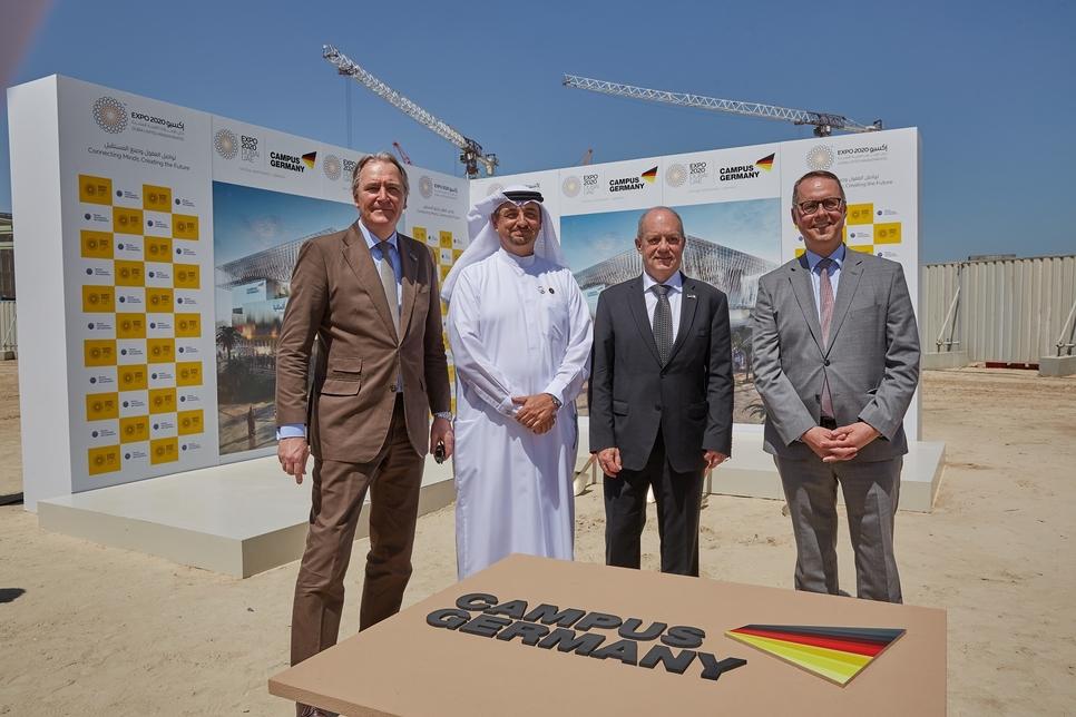 Ground has broken on Expo 2020 Dubai's Germany pavilion.