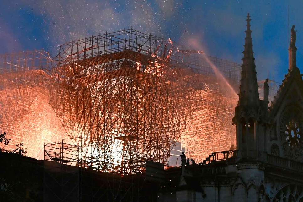 Renovation works are thought to have caused the Notre-Dame fire.