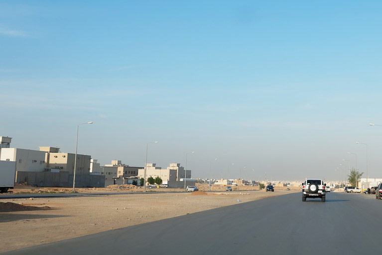 Saudi Arabia's white land tax imposes a levy on undeveloped urban plots.