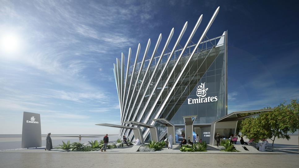 The Emirates Pavilion at Expo 2020 Dubai will showcase the future of aviation.