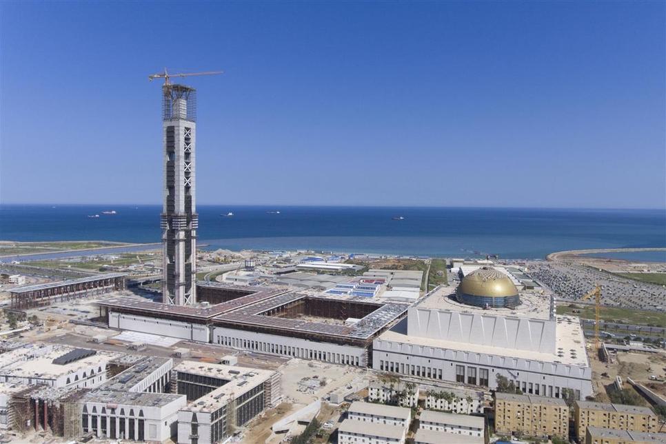 CSCEC has built Africa's largest mosque in Algeria.