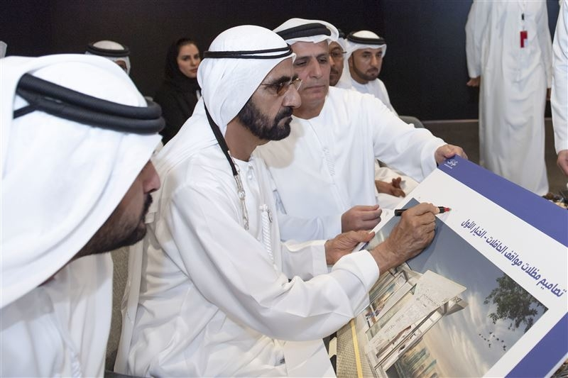 HH Sheikh Mohammed approved and reviewed RTA projects across Dubai.