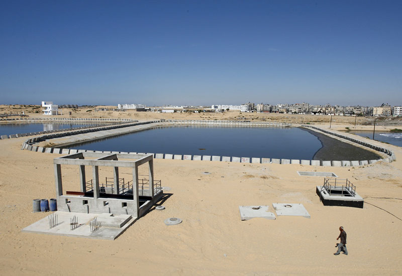 The UK will support the construction of a water plant in Gaza [representational image].