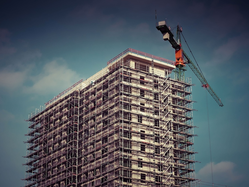 Middle East construction continued unabated in April 2019 [representational image].