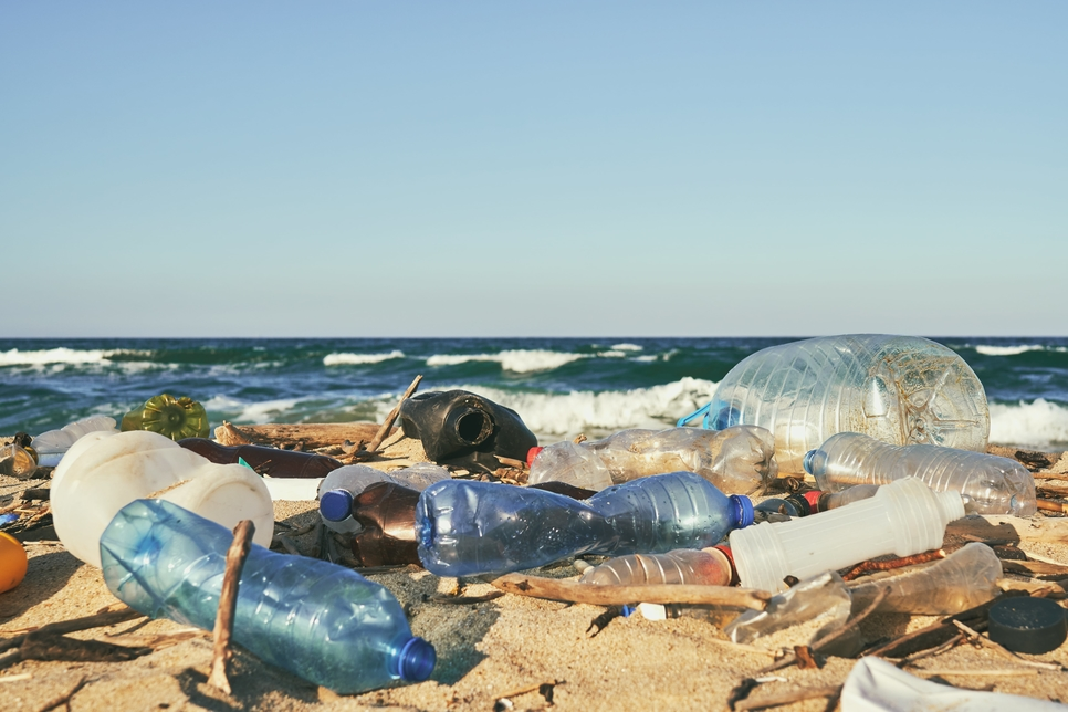 Kuwait is planning to cut plastic waste [representational].