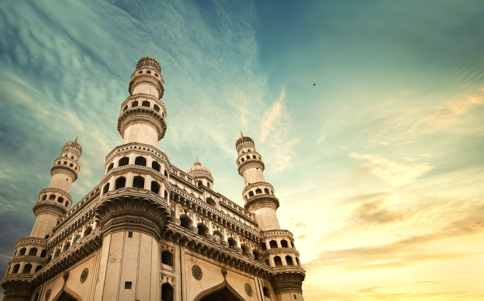 Hyderabad's Charminar is a 428-year old monument.
