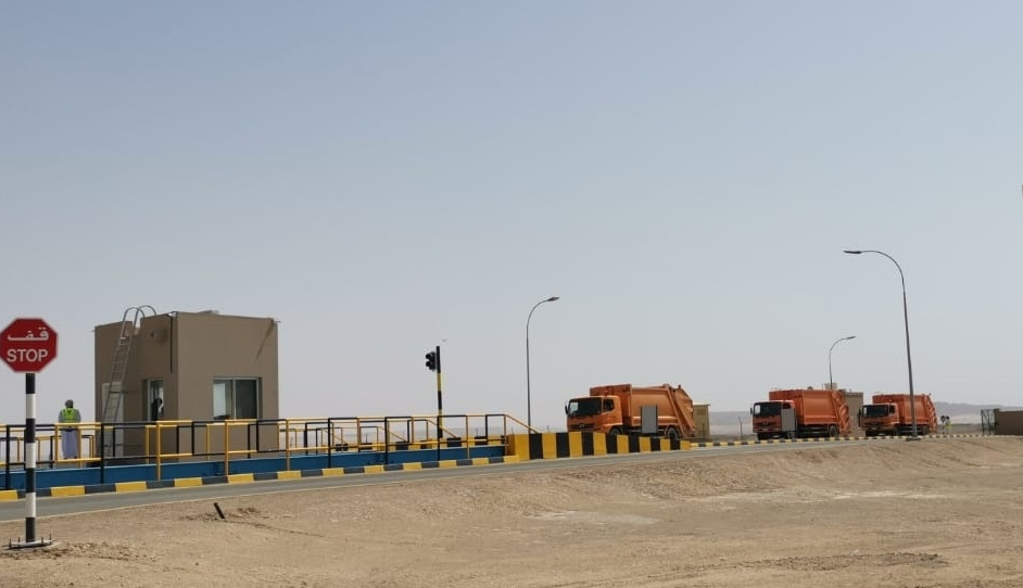 The Duqm waste management facility was built at a cost of $18m.