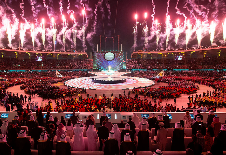 The Special Olympics World Games 2019 opened in Abu Dhabi.