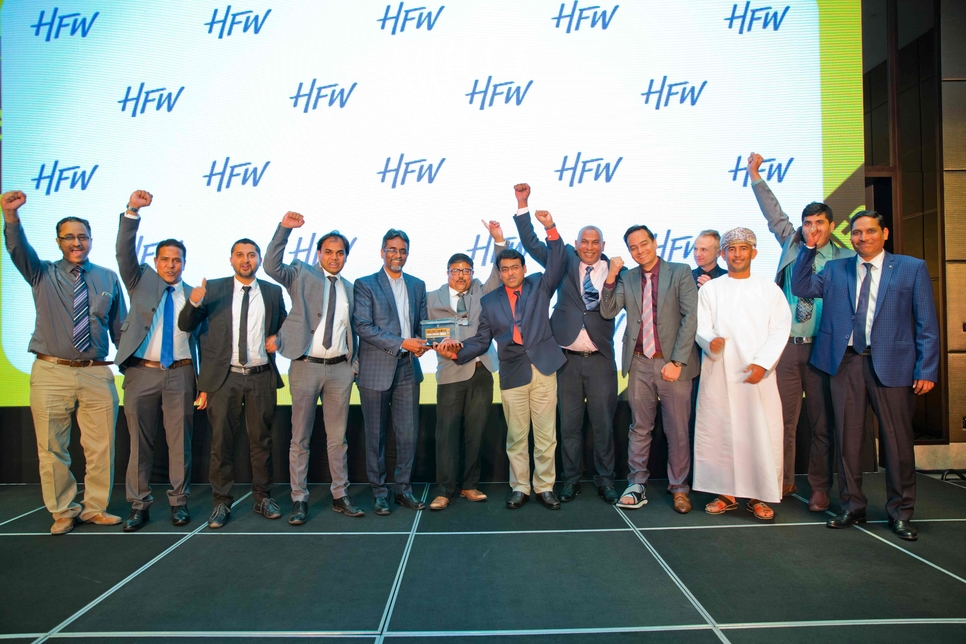 Voltas Oman was named Contractor of the Year at the CW Oman Awards 2019.