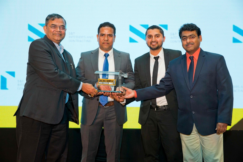Voltas Oman picked up sustainability honours for its work on Al Araimi Boulevard Mall.