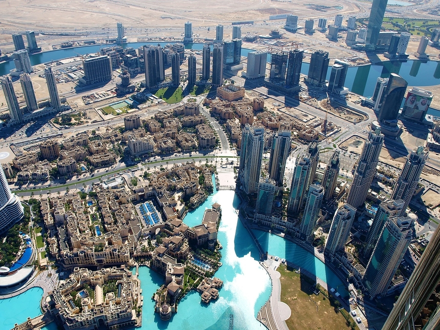 The top searched rental keywords in Dubai in August were 'new units' and 'chiller free'