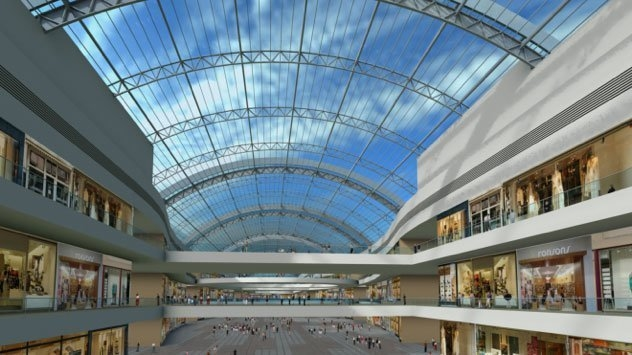 Open Aire developed Deira Mall's retractable roof.
