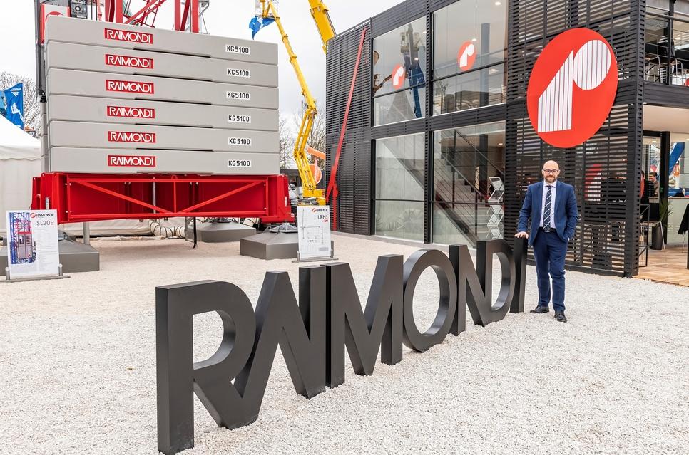 Domenico Ciano is CEO of Raimondi Cranes.