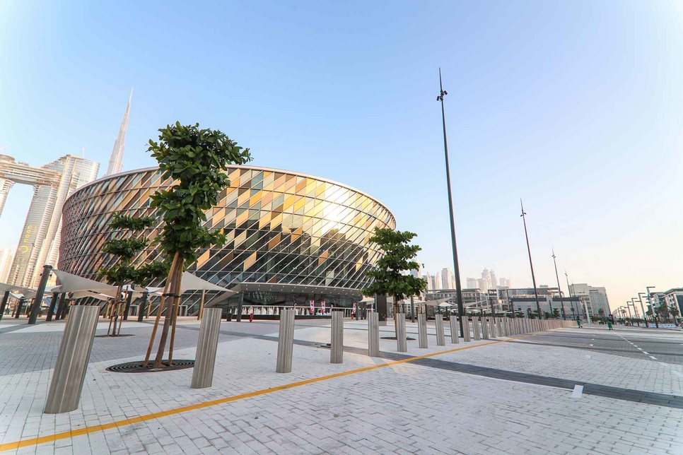 ESF has completed its work for Dubai's Coca-Cola Arena.