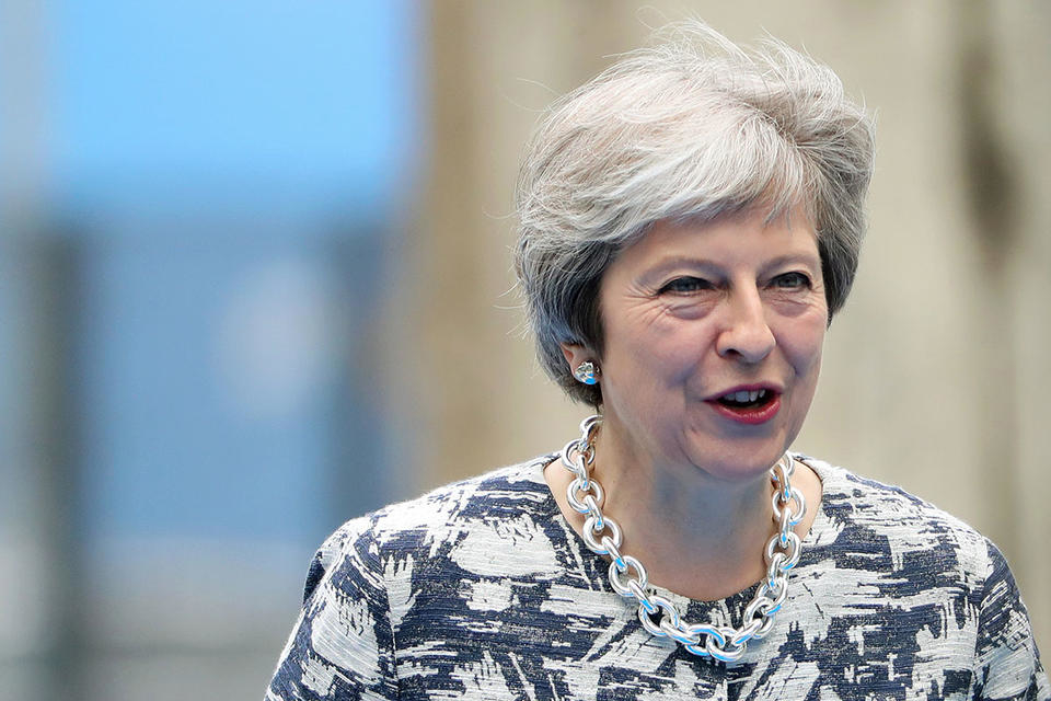 UK PM Theresa May has pledged to replace Grenfell-style cladding.
