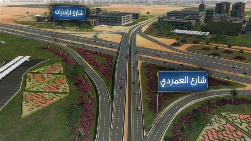 Dubai's RTA has approved a traffic improvement project.