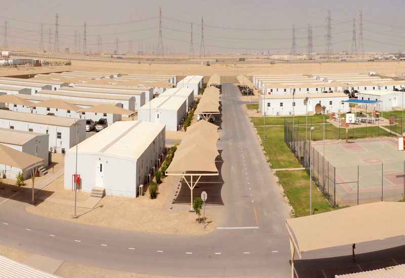 Saudi's Red Sea Int'l Co delivers prefab housing.